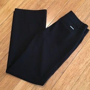 Michael Kors black wide leg trousers